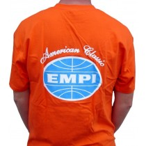 "tee-shirt ""EMPI American Classic"" orange taille M"