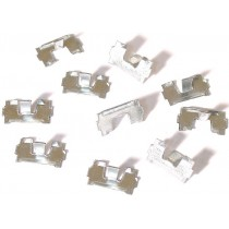 set de 10 clips de baguettes de marchepieds 18 mm