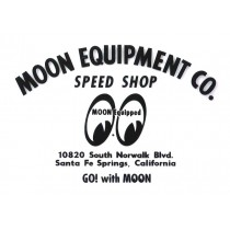 "autocollant ""MOON EQUIPMENT CO."" transparent (120x90mm) remplace la ref 98157"