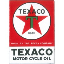 magnet émaillé TEXACO MOTOR CYCLE OIL