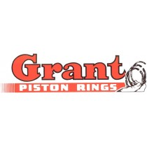 Autocollant GRANT PISTON RINGS ( 210 x 55 mm ) remplace la ref 98101