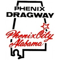autocollant PHENIX DRAGWAY ALABAMA ( 100 x 80 mm ) remplace la ref 98102