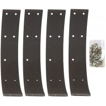 set de 4 bandes de freins à riveter vendues avec rivets 1200 47-53