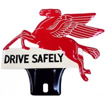 plaque d'ornement Pegasus DRIVE SAFELY remplace la ref 98223