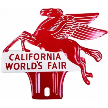 plaque d'ornement Pegasus CALIFORNIA WORLD'S FAIR remplace la ref 98226