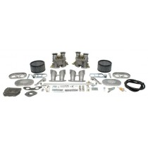 "kit LUXE double carburateurs EMPI ""D"" 40mm pour Type 4"