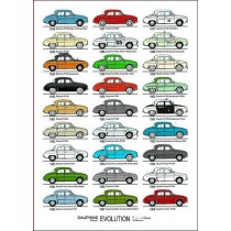 poster Dauphine Evolution (460x300mm)